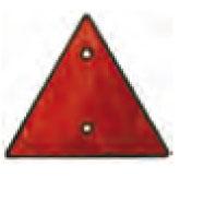 Triangle réfléc  hissant 155 mm par 2 - EU000821