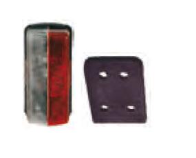 Feu de gabarit latéral blanc/rouge à plaquer A3* - EU000829