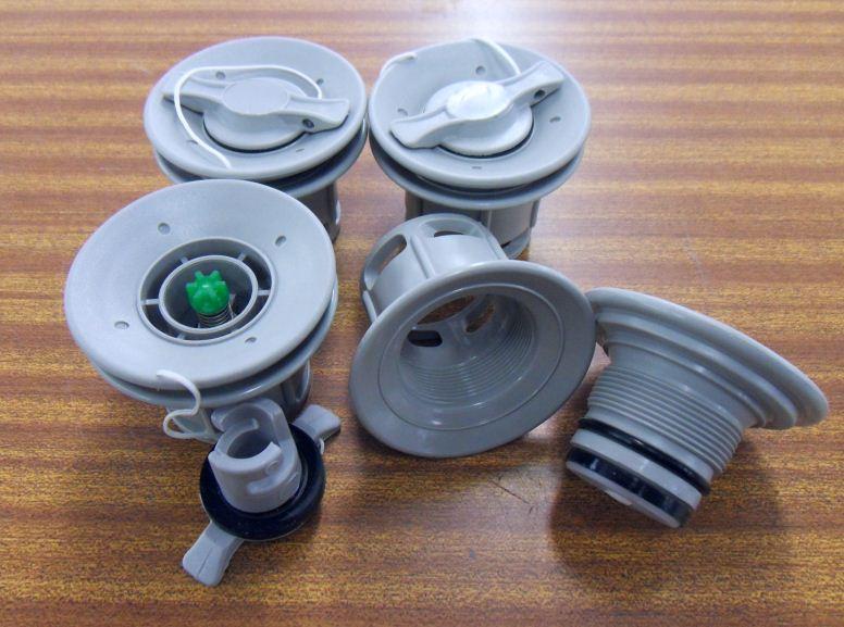 Lot de 4 valves pour bateau pneumatique paname marine - Kit de reparation pour zodiac ...