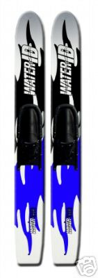 Paire skis nautique WATER WOOD ADULTE A0719