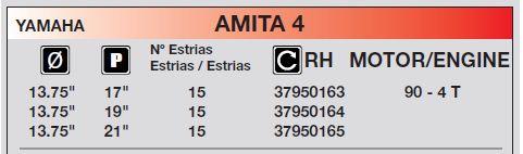 HELICE YAMAHA 8.50''X 7''X 7 pour 6/8CV 2T 4T IM37950100