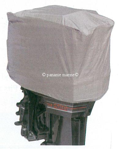 Housse capot bateau moteur hors bord maxi 6cv paname marine for Housse moteur hors bord mercury