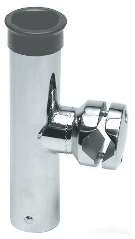 Porte-canne inox orientable montage tube 25mm