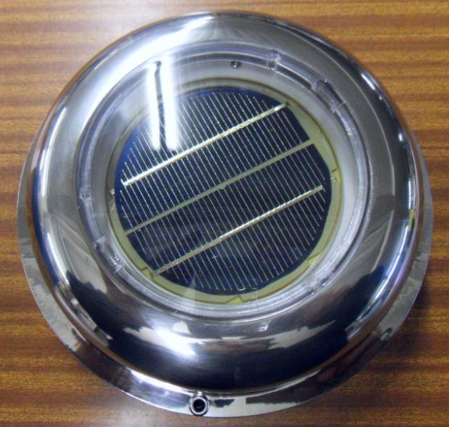 Aérateur solaire inox etanche EU001409
