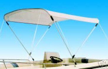 bimini de soleil DELUXE larg 150cm 2 arceaux (reglable 140160cm)