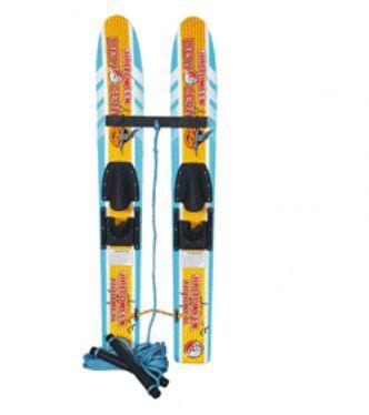 Paire skis enfants trainer halloween ideal pour apprendre A0719
