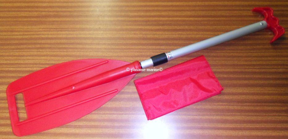 mini pagaie/gaffe demontable telescopique avec sac  50219H