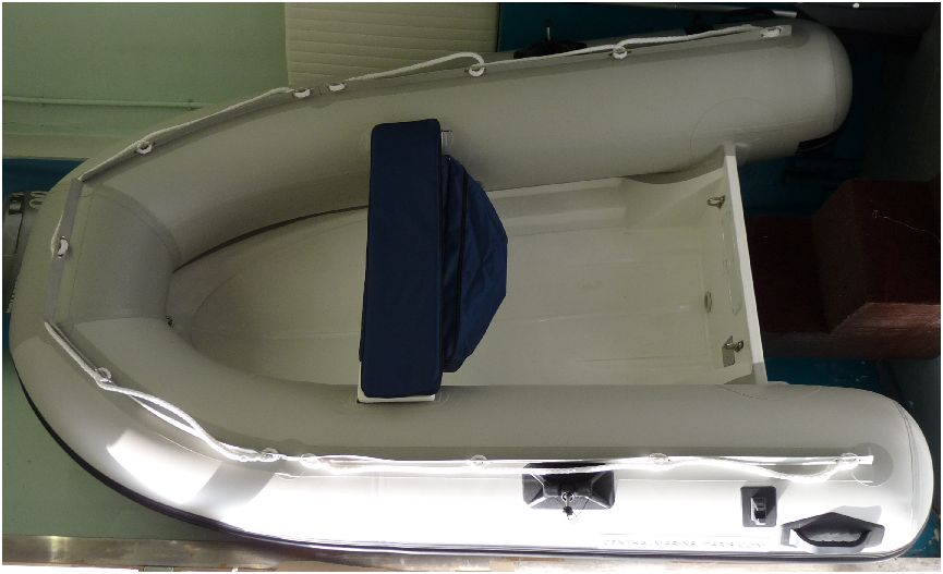 annexe bateau semi rigide RIB 240 expo
