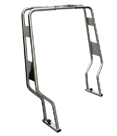 Roll bar inox pour semi rigide DIA 40MM A0119