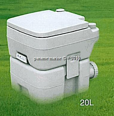 Wc chimique 20 l camping bateau caravane produit wc ebay for Wc chimique portable