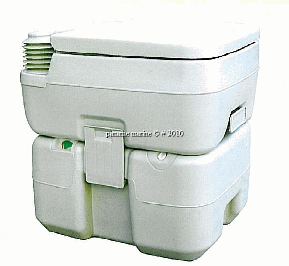 toilette portable wc chimique reservoir 21l 15l neuf paname marine. Black Bedroom Furniture Sets. Home Design Ideas